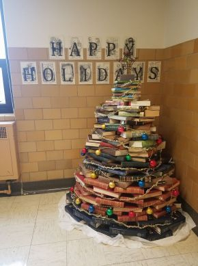 Christmas Book Tree by: Tiffany Dimmick