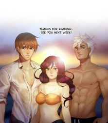Shon, Ian, and Lyra